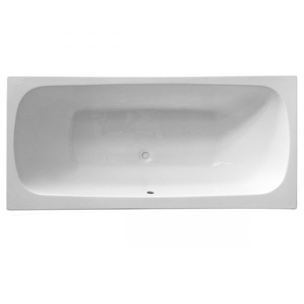 Platto Double Ended bath reinforced Lucite Acrylic
