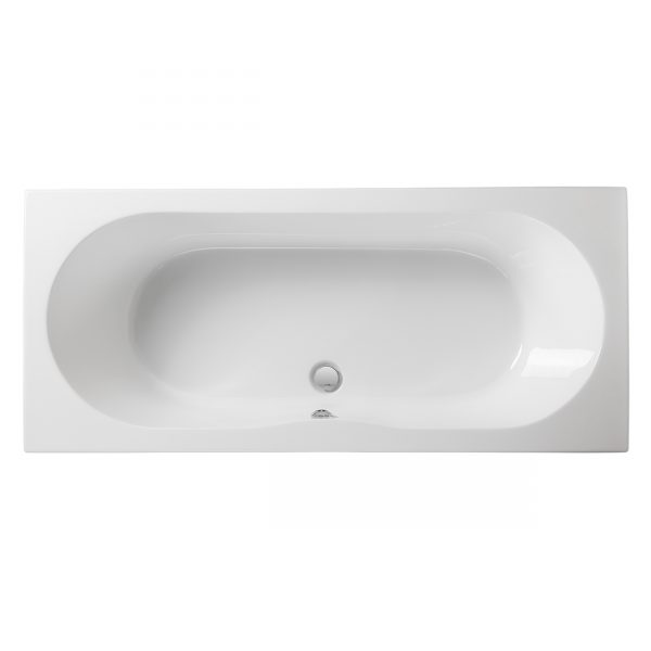 Wave reinforced double ended bath Puracast
