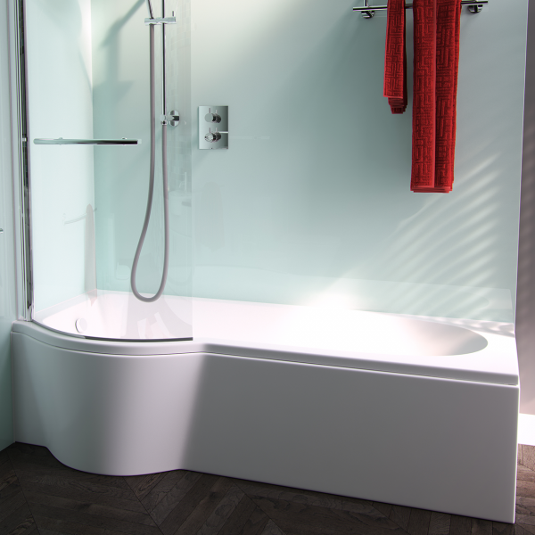 Arco Shower Bath by Puracast