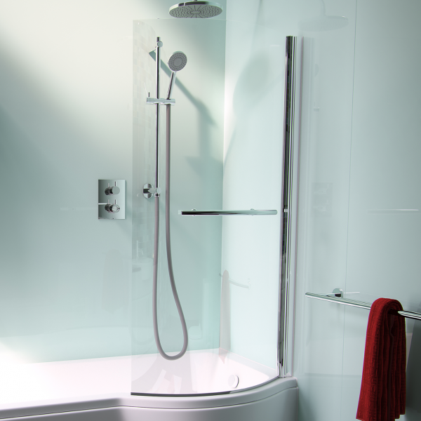 Arco Shower bath screen Pura