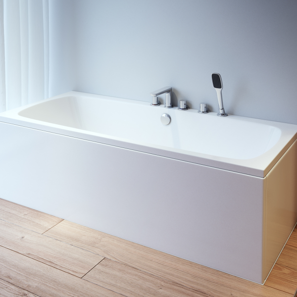 Platto Double Ended Bath Reinforced