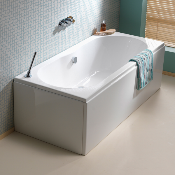Wave Double Ended Bath Fully Reinforced