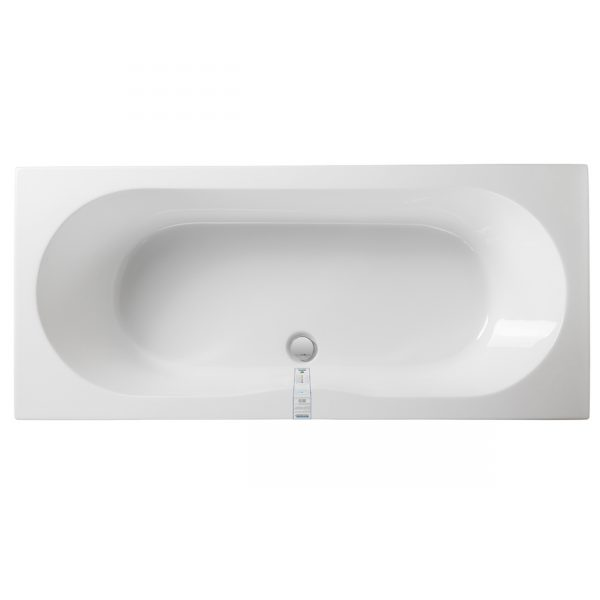 Double ended water saving eco bath