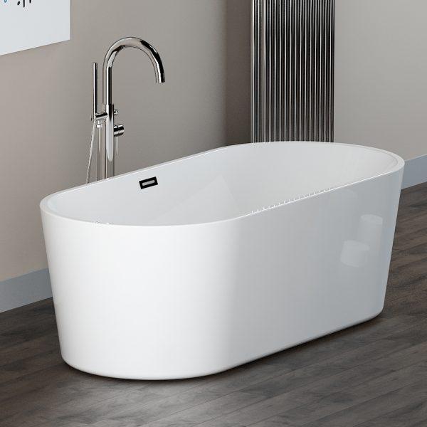 Arco Slim 1700x800 freestanding bath Puracast